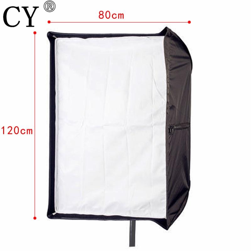 Photo Studio 80cm x 120cm/32*48 Umbrella Rectangle Softbox Photography Studio Soft Box Lightbox For SpeedLight/Flash
