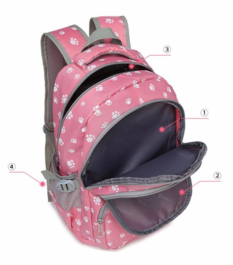 Fashion kids book bag breathable backpacks children school bags women leisure travel shoulder backpack mochila escolar infantil 12
