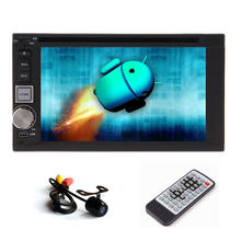 Radio USB System Capacitive GPS Stereo OBD2 WiFi Camera APP Head Unit Player 2 din Android 5.1 Car DVD CD Auto Video
