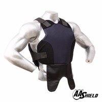 AA Shield Bulletproof Vest Body Armor Suit Comfortable Armour Aramid Core Carrier Color Dark Bule Size M/L