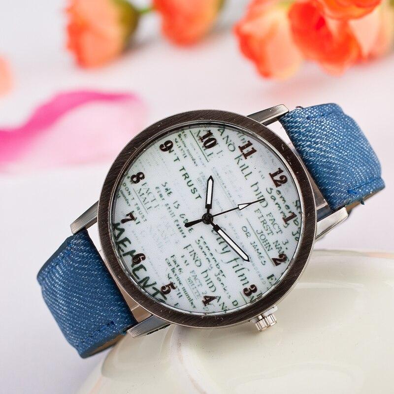 Hot 2019 New Fashion Watches Women Men Watch Leather Gazette Quartz Wristwatch Female Male Clocks Relogio Feminino Drop Shipping