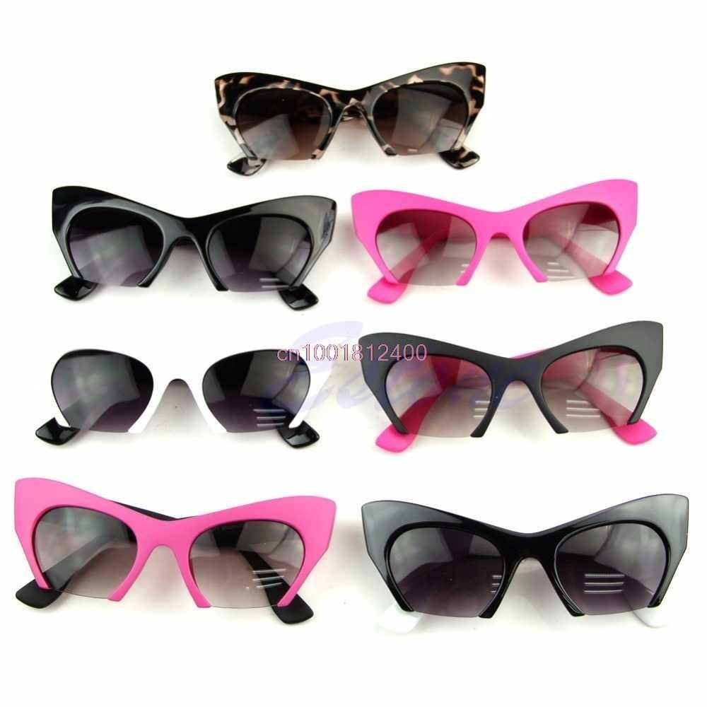 1 PC gafas Retro de ojo de gato para mujer gafas clásicas de diseñador Vintage gafas de moda