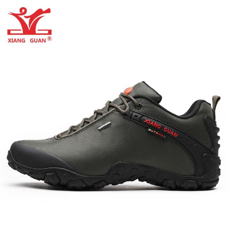 XIANG GUAN Hombre Senderismo Zapatos Hombre Botas de Trekking - Zapatillas - foto 5