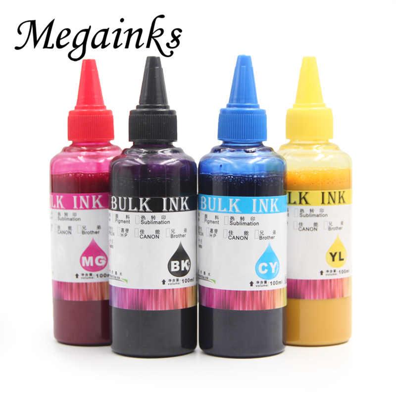 100 ml Refil Universal Sublimação De Tinta para Impressora Jato de tinta Epson Desktop Kit de Transferência Da Imprensa do Calor para a Caneca Copo Bandeira T-Shirt polliow