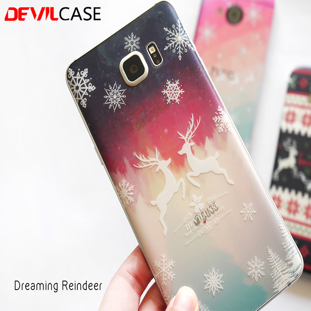 on sale 6a482 cb5b2 US $8.9 |DEVILCASE Xmas Series Back Sticker For SAMSUNG Galaxy Note 5 Brown  Lost Dreaming Santa Designs Back Decal Note5 on Aliexpress.com | Alibaba ...