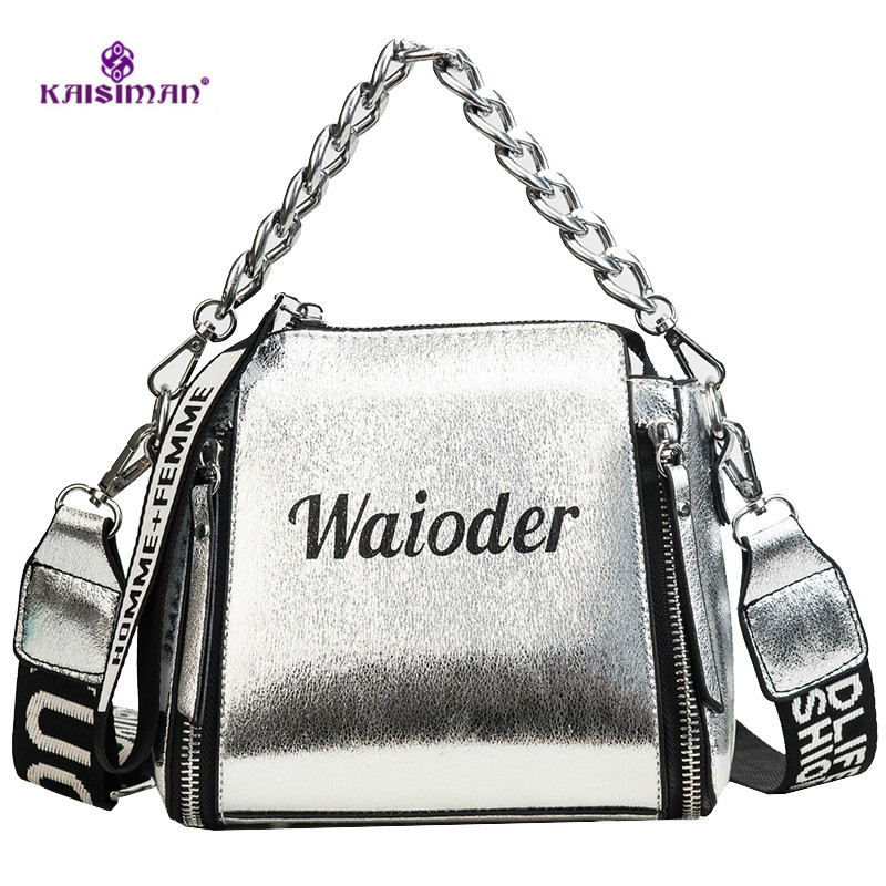 New Broadband Laptop Shoulder Bag Korean Wild Messenger Bag Chain Bucket Bag l* handbags high quality vs pink women louis bag
