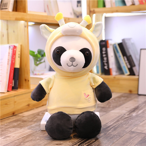 1pc 35/45cm Kawaii Bear Panda Cosplay Elphant Animal Plush Toys Kids Cute Figure Toys Doll Children Creative Birthday Gift