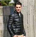 Men ' s ultraligero plegable Puffer abajo chaqueta acolchada de invierno ropa de abrigo chaqueta exterior 41