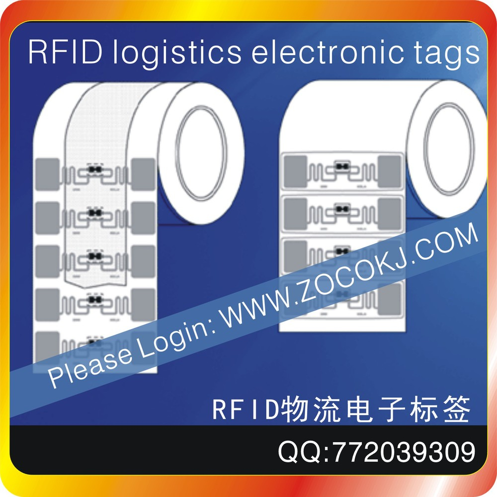 2000pcs RFID UHF 860 ~ 960 MHZ Automated Production Line Electronic Tags ISO 18000-6 - C RFID Card Operating