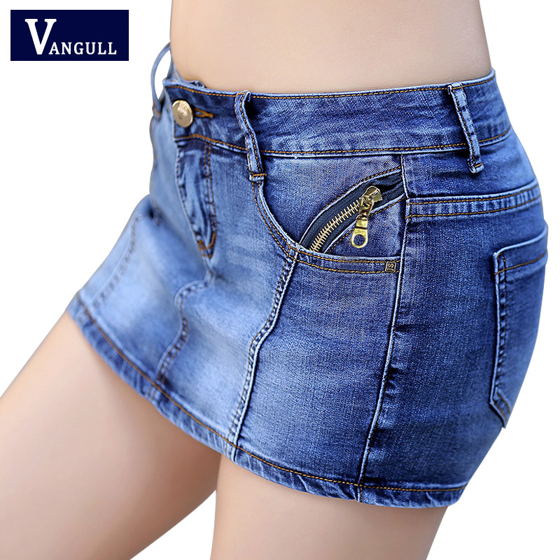 New 2017 Summer Denim Skirt   Shorts   Women Plus Size Vintage   Short   Jeans Female Fashion Jeans   Shorts   Skirt Feminino Plus size XXXL