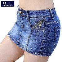 c83233f62d New 2017 Summer Denim Skirt Shorts Women Plus Size Vintage Short Jeans  Female Fashion Jeans Shorts