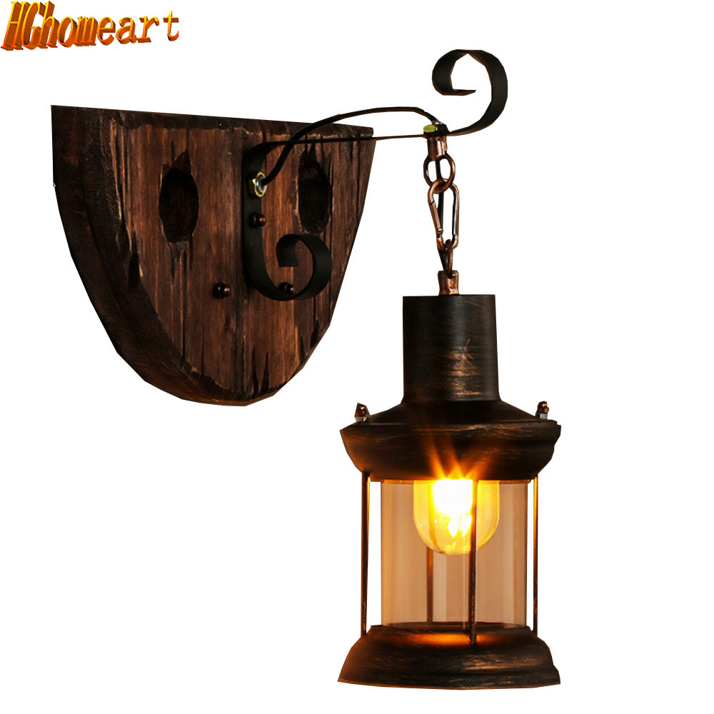 Creative American Retro Industrial Wall Wood Wooden Decoration Living Room Aisle Restaurant Bar Iron Light modern creative table basse wooden big horse wood craft for art home office theme restaurant living room study decoration tm013m