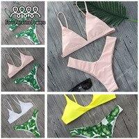 2017 Sexy Bikinis Women Swimsuit Push Up Swimwear Female Brazilian Bikini Set Bandeau Summer Beach Bathing