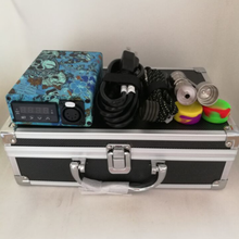 New Blue Electric E dab nail electric kit heater coil flat 16mm/20mm PID Temperature Control Titanium Nail Carb Cap