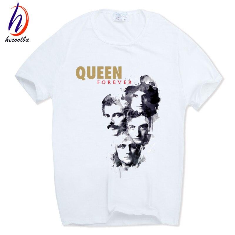 Men Women Print FREDDIE MERCURY T-shirt O-Neck Short sleeves Summer Heavy Rock top100 band queen T Shirt HCP627