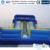 Projeto Atrativo Corrediça Inflável Biggors Made In China Para A Venda