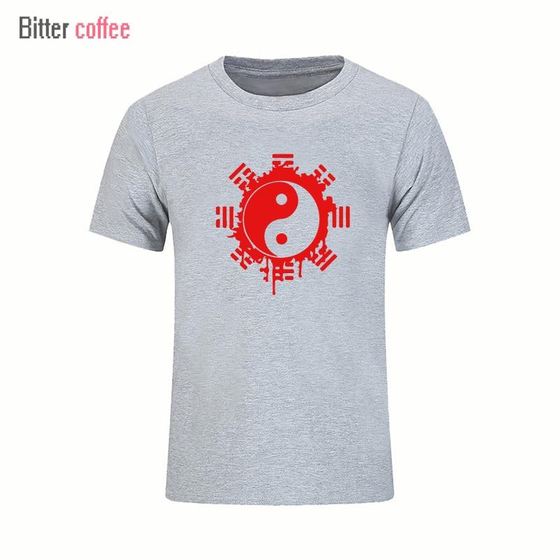 2017 divat nyári t-shirt férfi felső felső kínai Tai Chi tinta - Férfi ruházat - Fénykép 3