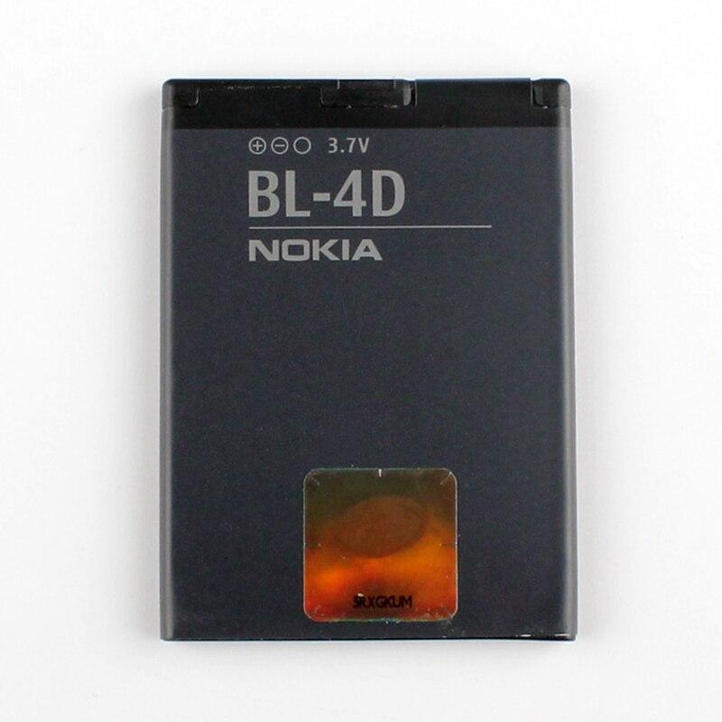 Original Nokia BL-4D phone battery for Nokia N97 Mini N8 N8-00 E5 E5-00 702T T7-00 E7 E7-00 BL4D 1200mAh