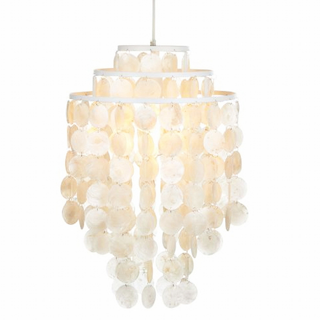 3 circle loft modern white natural seashell chandeliers lustres 3 circle loft modern white natural seashell chandeliers lustres fixture e27 lights shell lamps for bedroom aloadofball Image collections