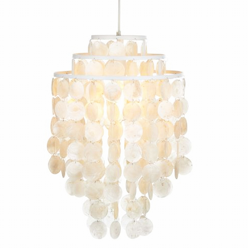 3 Circle loft modern white natural seashell pendant lamp lustres fixture E27 Lights Shell lamps for bedroom living room kitchen лоферы allora лоферы