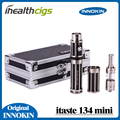 100% original innokin itaste 134 mini-kit de inicio itaste mini 134 e cigarro enorme vapor e-cigarrillo mod mecánica