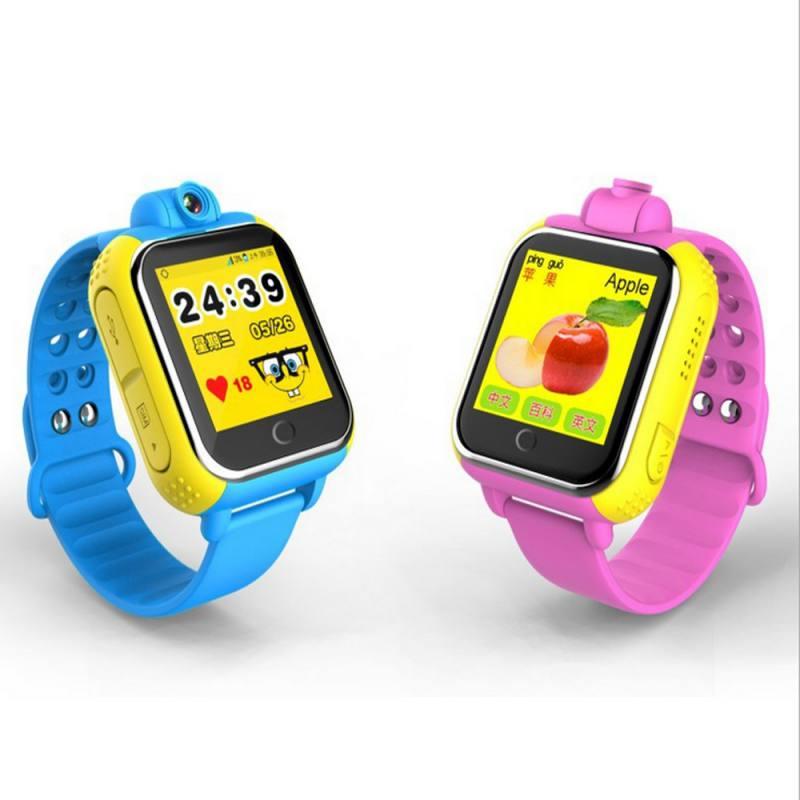 """מזגנים 3G Smart שעונים מצלמה מרחוק GPS LBS WIFI מיקום שילדים צופים GPS 1.54 """""""" מסך מגע חכם Tracker SOS עבור טלפון אנדרואיד IOS (3)"""
