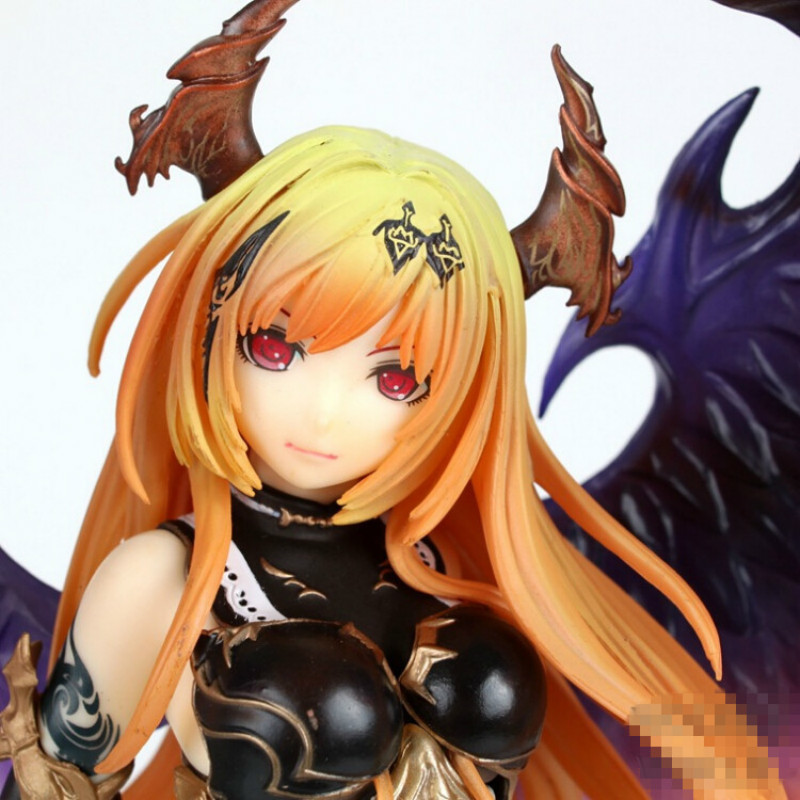 Rage Of Bahamut 29cm Dark Angel Olivia Ani Statue Sexy Brinquedos Action Figure Anime Game Figure Action & Toy Gift