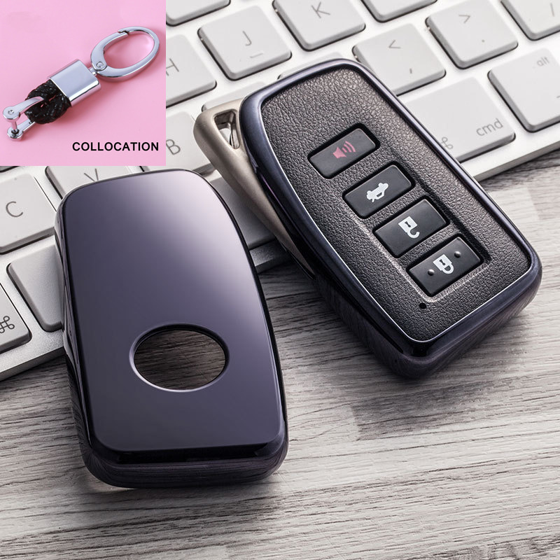 Environmentally friendly Wear resistant Soft TPU Key Cover Case For Lexus IS ES CT200H NX LX 250 300 350 450H 300H keychain New in Key Case for Car from Automobiles Motorcycles