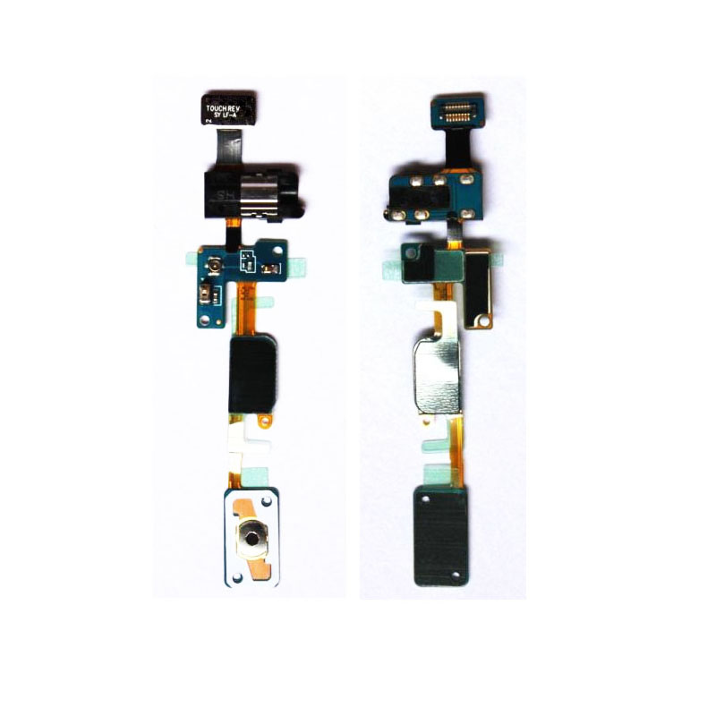 100% New Home Button&Earphone Jack Flex Cable For Samsung Galaxy J7 Prime / On7 (2016) G610