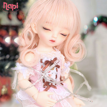 Napi Sleeping Karou BJD SD Doll 1/6 YoSD Body Model Baby Girls Boys Resin Toy High Quality Fashion Shop Luodoll Baby Gifts 2