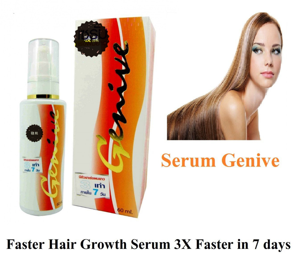 804025f27a2 GENIVE LONG FOR FASTER HAIR GROWTH Hair loss HAIR SERUM hair to lengthen 60  ml
