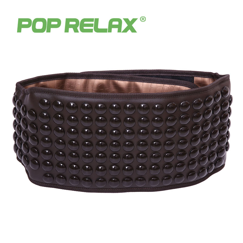 POP RELAX Germanium tourmaline waist belt jade stone far infrared thermal physical therapy massager health electric massage belt pop relax tourmaline germanium waist belt far infrared physical heating therapy back pain relief health care stone massage belt