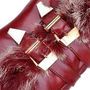 Image 3 - MORAZORA Botas de media caña para mujer, botas de nieve de poliuretano para invierno de alta calidad, zapatos de plataforma cálidos, 34 43 talla grande, 2020