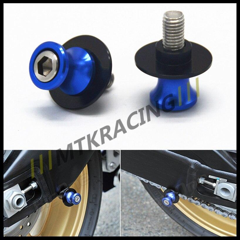 Free delivery10mm Motorcycle CNC Swingarm Spools stand screws Slider For KAWASAKI Z750 Z750R Z250 NINJA 250 300 Z1000 1000 for bmw s1000rr hp4 s1000r s1000xr s1000 r rr 8mm motorcycle cnc aluminum swingarm spools slider stand screws accessories part