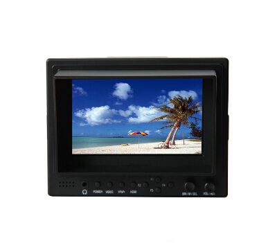 Lilliput 569, 5 TFT 16:9 LCD Field Monitor With HDMI And YPbPr Input,For Full HD Video Camera 1920x1080 lilliput tm 1018 o p 10 1 led ips full hd hdmi field touch screen camera monitor with hdmi input