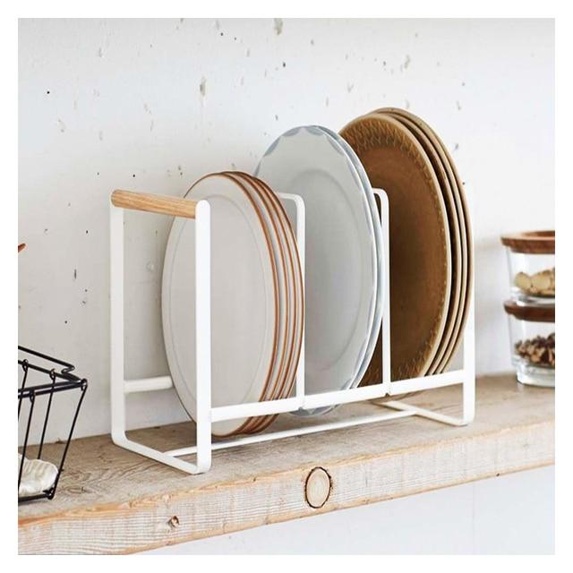Iron Kitchen Tray Drain Storage Rack Simple Household Tableware ...