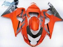 ABS kunststoff Verkleidung kits für SUZUKI 2004 2005 GSXR 600 R750 sport verkleidungen kit 04 05 GSXR750 GSXR600 K4 K5 rot goldene SZ24
