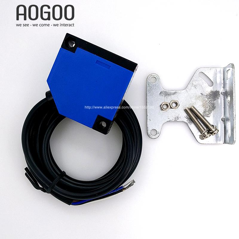 30cm Diffuse Photoelectric Sensor AC90-250V Relay Output Infrared Sensor ELE50S-A30JB7 e3f ds10y1 ac 90 250v 300ma no infrared ray photoelectric sensor switch 10cm