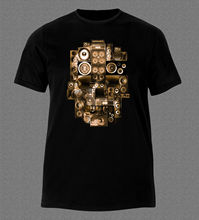 Turntable Speakers men t-shirt