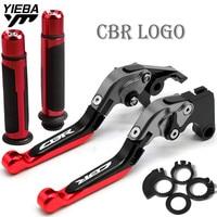 FOR HONDA CBR600RR CBR 600 RR 2003 2004 2005 2006 Motorcycle Folding Brake Clutch Levers Handlebar handle grips Accessories cnc