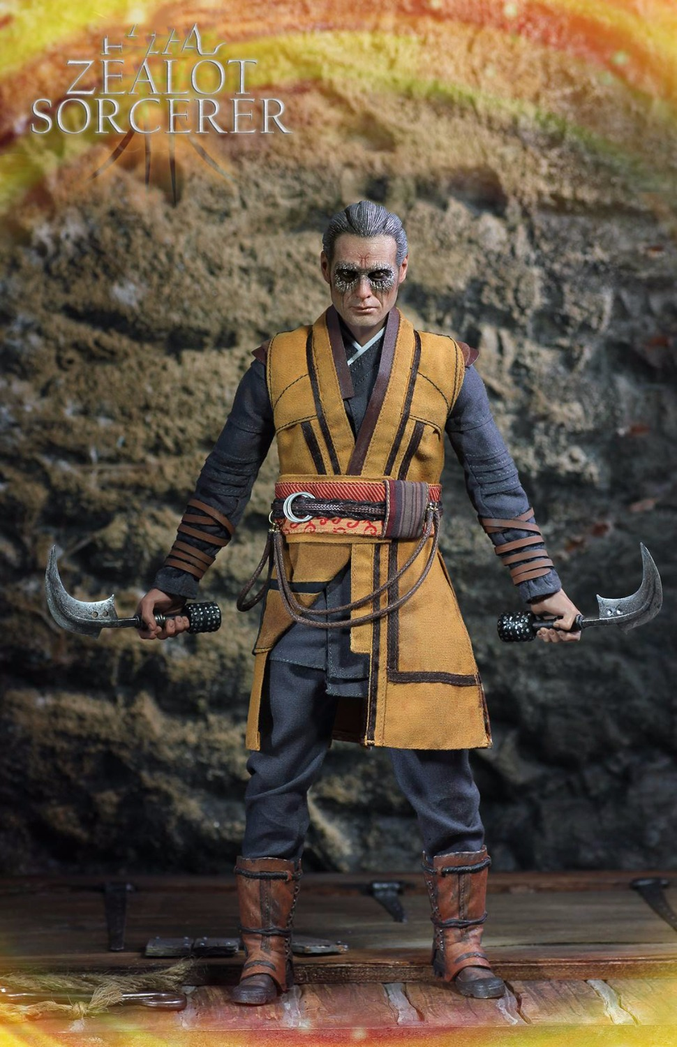 1/6 Zealot Sorcerer Master Collectible Action Figures Model Full Set With Accessories 1 6 soldier action figure the dark zone agent renegad model accessories full set figures