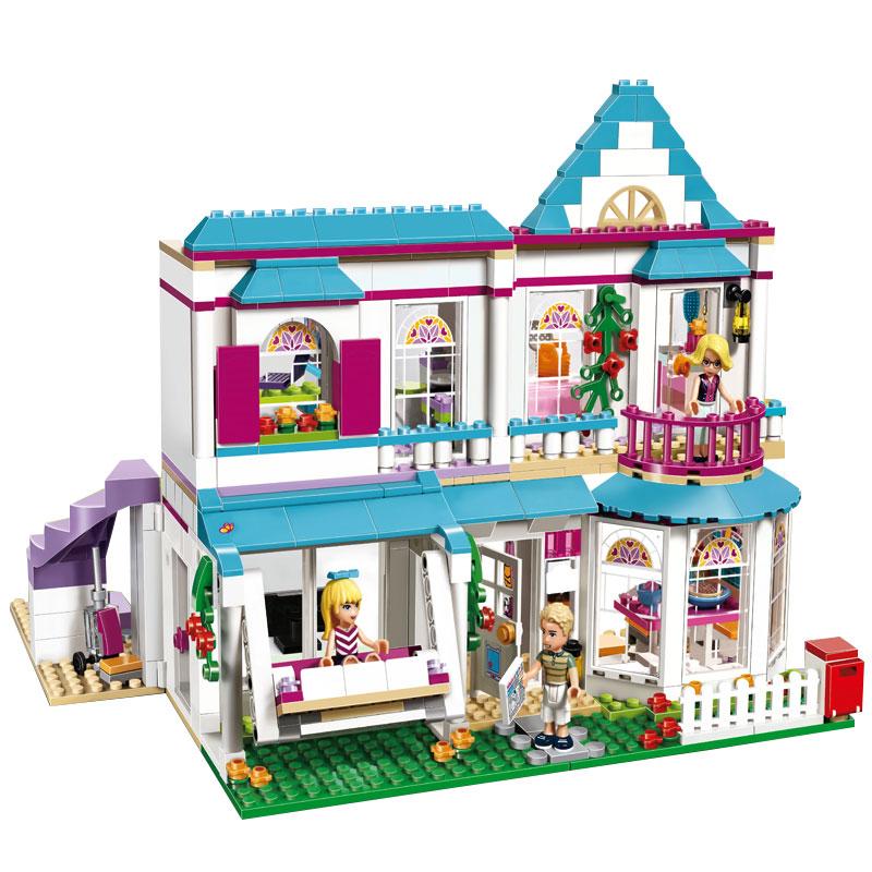 buy lepin 01014 622pcs genuine good friend girls series the stephanie 39 s house. Black Bedroom Furniture Sets. Home Design Ideas
