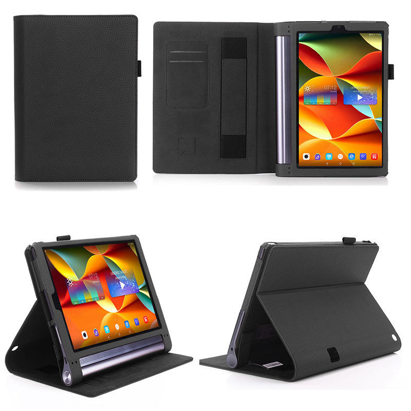 For Lenovo YOGA Tab 3 plus Case, PU Leather Stand Case For Lenovo YOGA Tab 3 Pro 10 X90 X90F Leather Cover YT-X703L X703F Cases