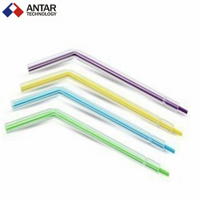 AT0151 500 PCS Dental 3-way syringe Tips Dental Materials plastic with three three gun nozzle tip nozzle