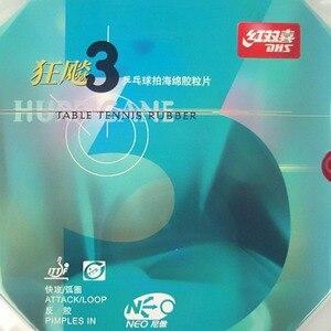 Image 2 - Quả Bóng Bàn DHS NEO Bão 3 NEO Hurricane3 NEO Bão 3 Bịch Trong Bóng Bàn PingPong Cao Su Với Cam Bọt Biển 2.15 2.2Mm