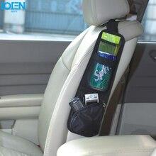 1 шт., черное автомобильное сиденье, боковое Крепление, Сетчатая Сумка для хранения, бутылка для напитков, держатель для зонта, органайзер, сумки для автомобилей, аксессуары для интерьера