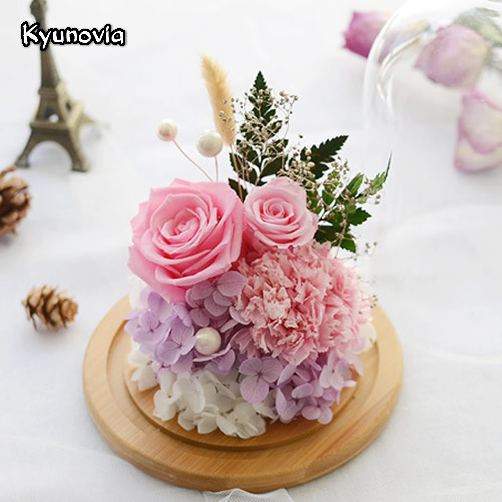 Aliexpress buy kyunovia natural real red rose flower preserved aliexpress buy kyunovia natural real red rose flower preserved fresh dried flowers valentines day birthday gifts home decoration ky117 from reliable izmirmasajfo