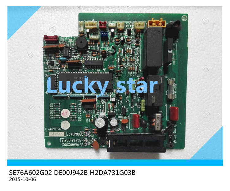 95% new for Air conditioning computer board circuit board SE76A602G02 DE00J942B H2DA731G03B good working 95% new for haier refrigerator computer board circuit board bcd 198k 0064000619 driver board good working