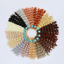 1PCS 28Colors Wavy Doll Hair Wig DIY Dolls For BJD Wigs