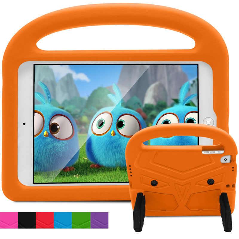 الاطفال حافظة لجهاز iPad 5 باد 6 لطيف الطيور للصدمات لينة غطاء من السيليكون لباد الهواء 2 الهواء 3 واقية لباد برو 9.7 ''2017 2018